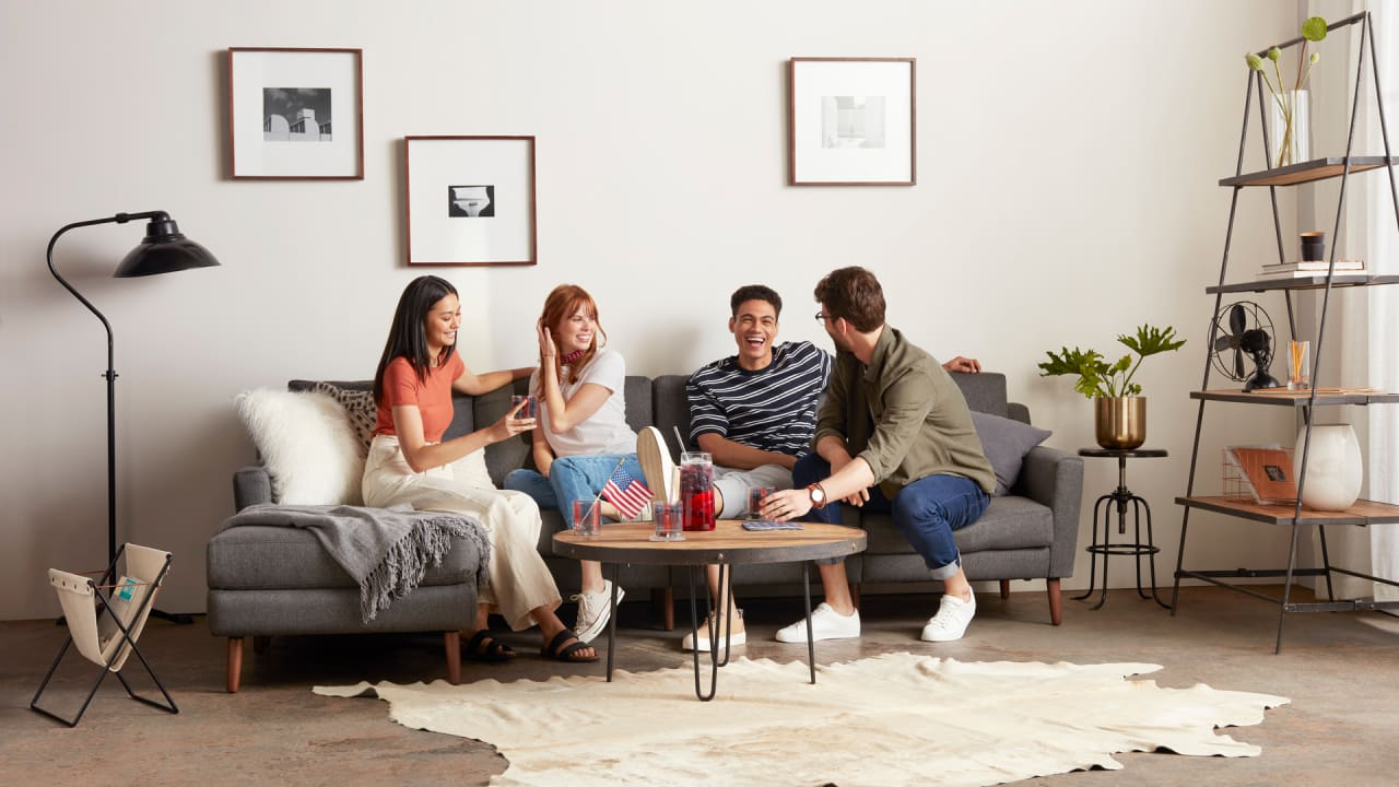 sofa startup burrow opens its first physical store as online sales fue