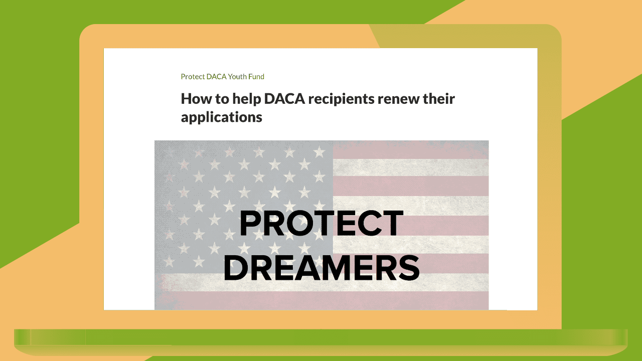 gofundme is making it easy to help dreamers