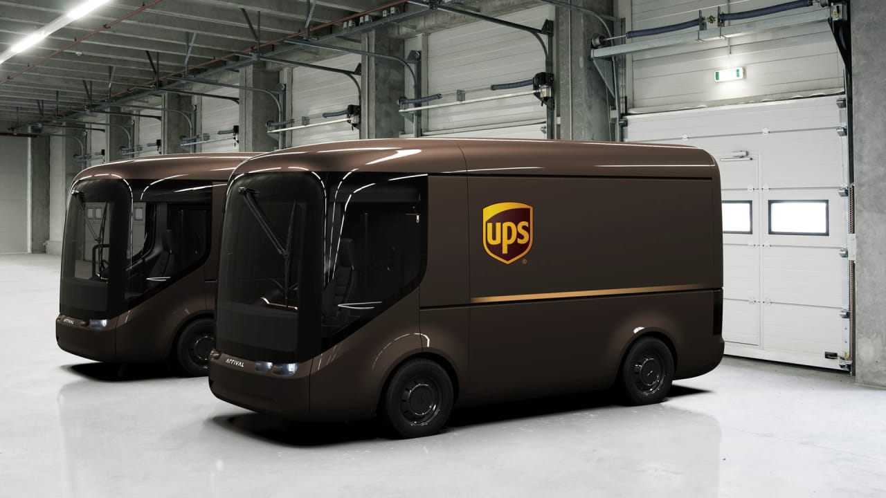 UPS doubles down on its shift to electric vehicles