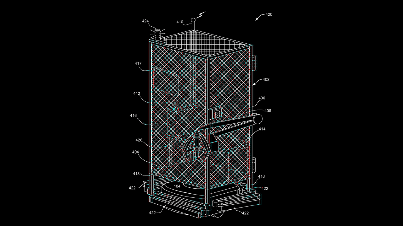 an amazon patent put humans in cages and let robots roam free