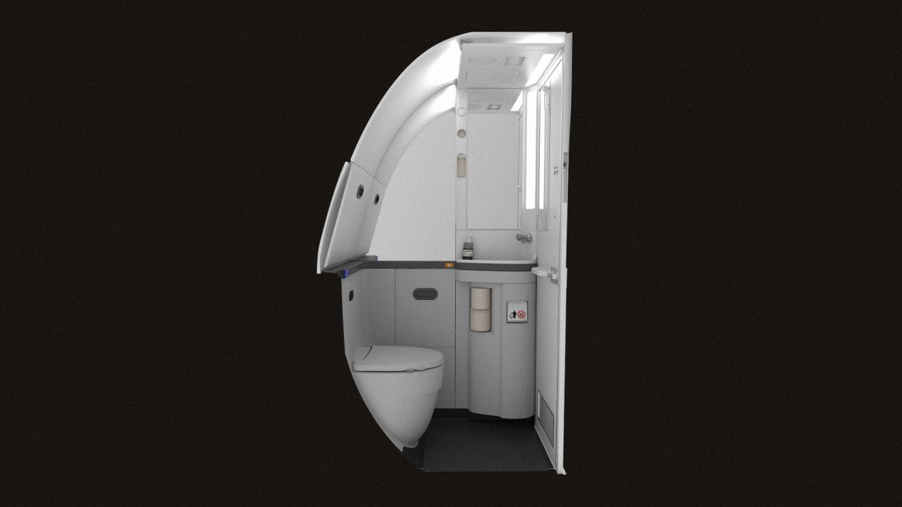 The Sadistic Quest to Design an even Tinier Airline Toilet