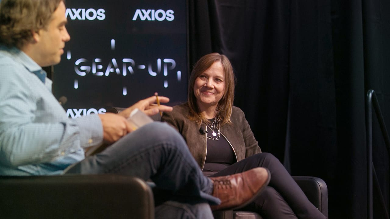 GM's Mary Barra on 4 trends that will shape the future of transportation