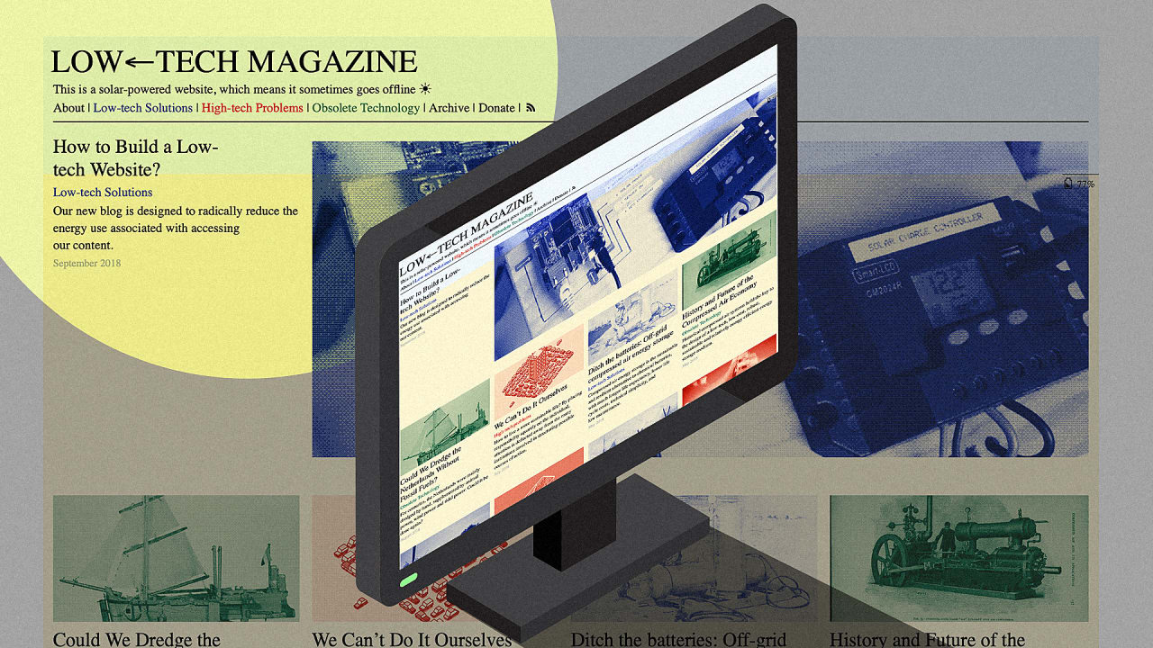 Low Tech Magazine Launches Radical Solar Powered Website