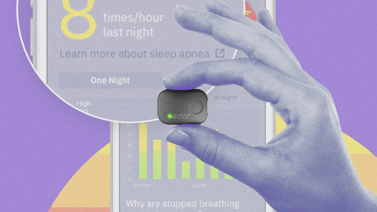 This Tiny Wearable Sticks to your Forehead to Measure your Sleep