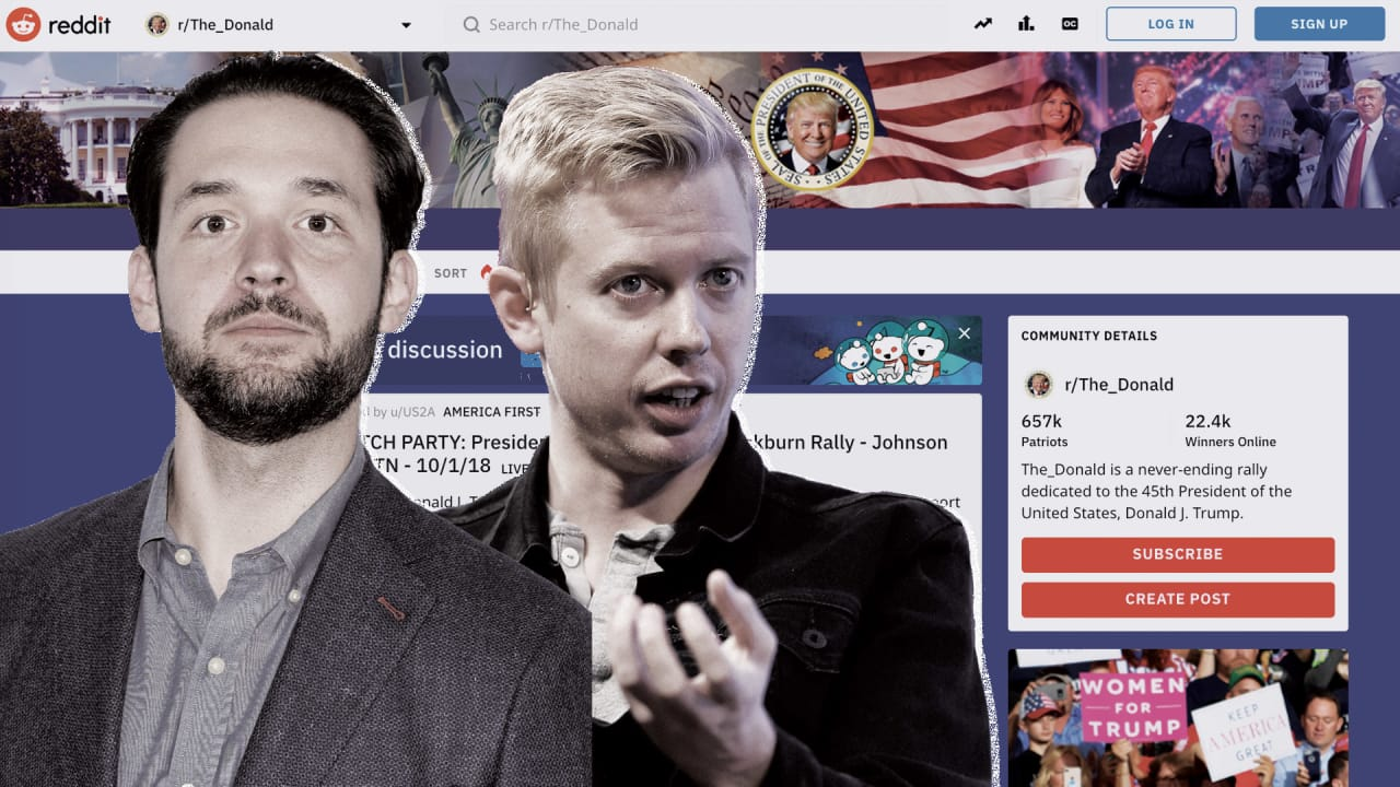 How Reddit CEO Steve Huffman handled The_Donald subreddit