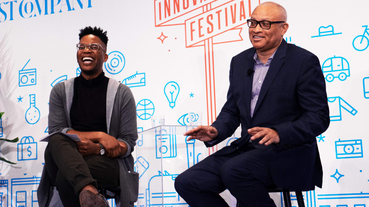 Comedian Larry Wilmore Created his own Path. Now He's Helping the Next Generation do the Same