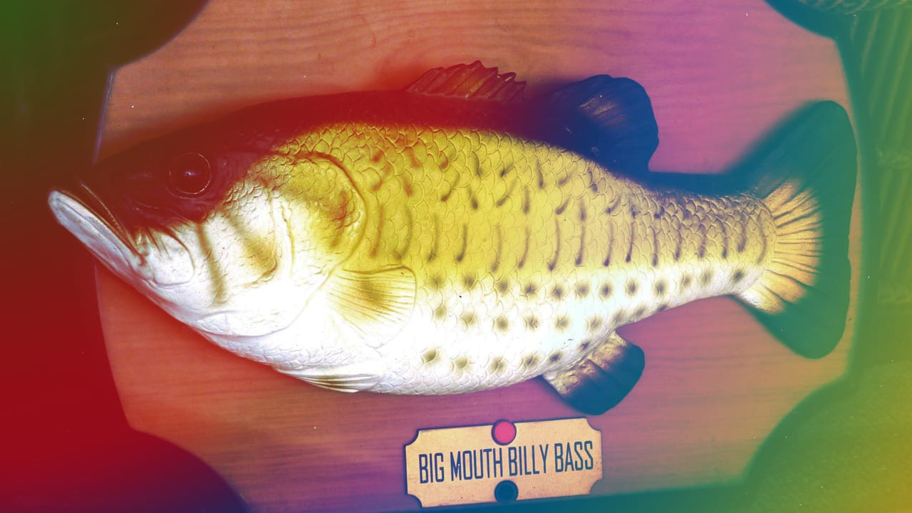 Amazon Alexa-compatible Big Mouth Billy Bass is the Only Holiday Gift that Matters