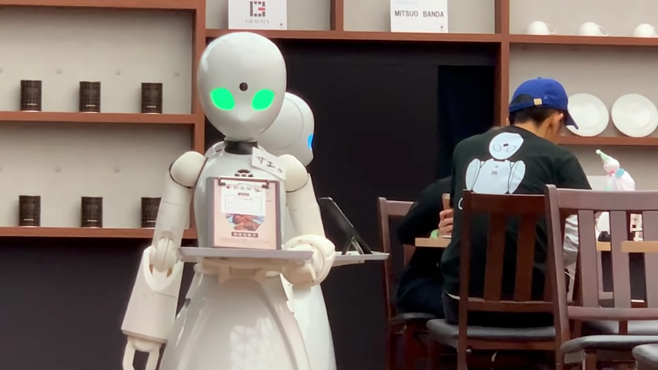 This Tokyo Cafe is Staffed by Robots Remotely Controlled by People with Disabilities