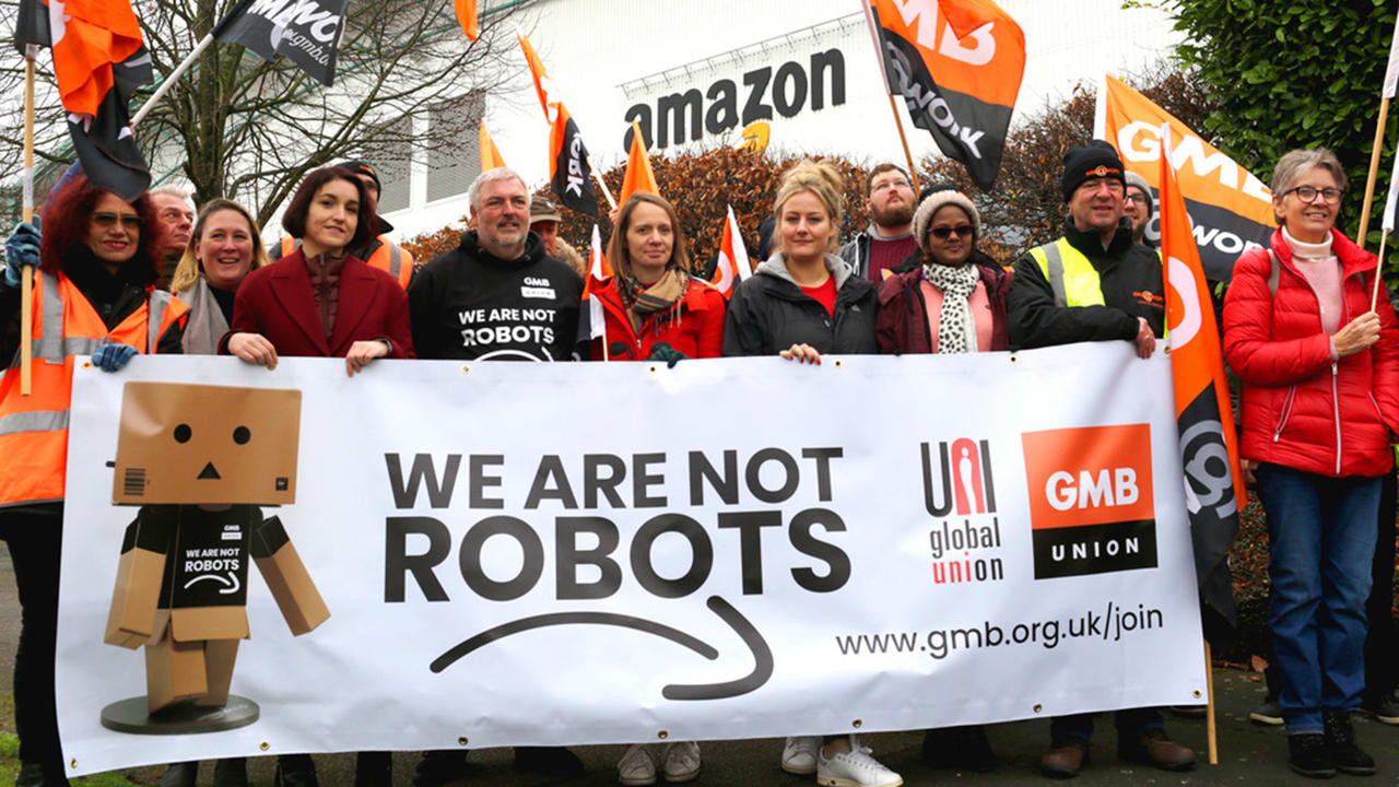 Thousands of European Amazon warehouse workers are on strike