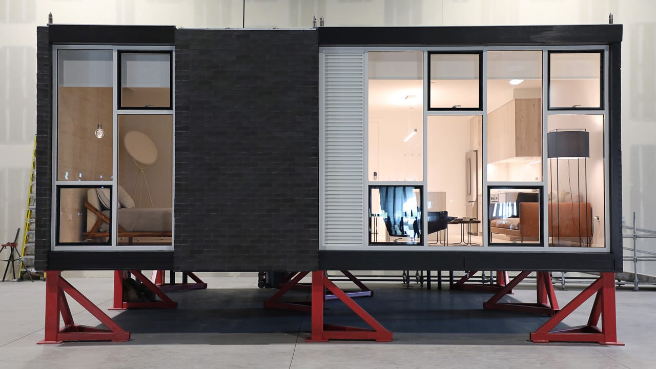 skender unveils a prototype modular apartment unit in chicago
