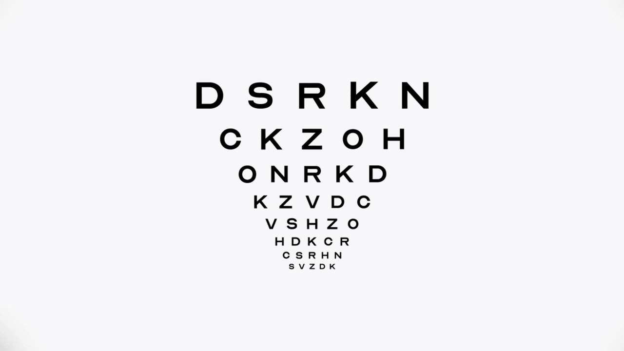 image about Free Printable Fonts No Download known as Down load the Optician Sans, the historical eye chart font