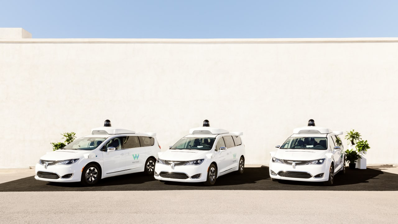 Waymo One is the world's first self-driving taxi service