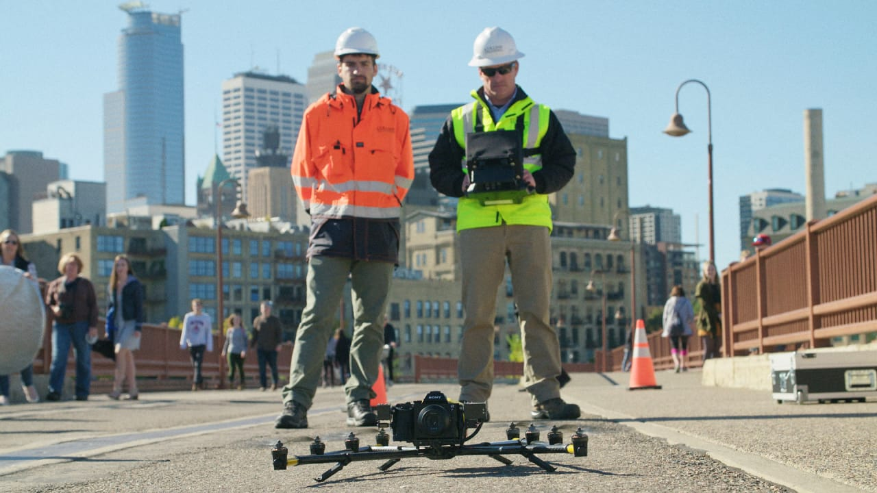 Inspecting Bridges is Hard and Dangerous. Send in the Drones