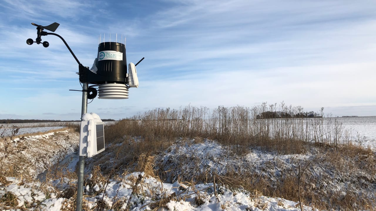 In Kazakhstan, these hyperlocal weather stations help
