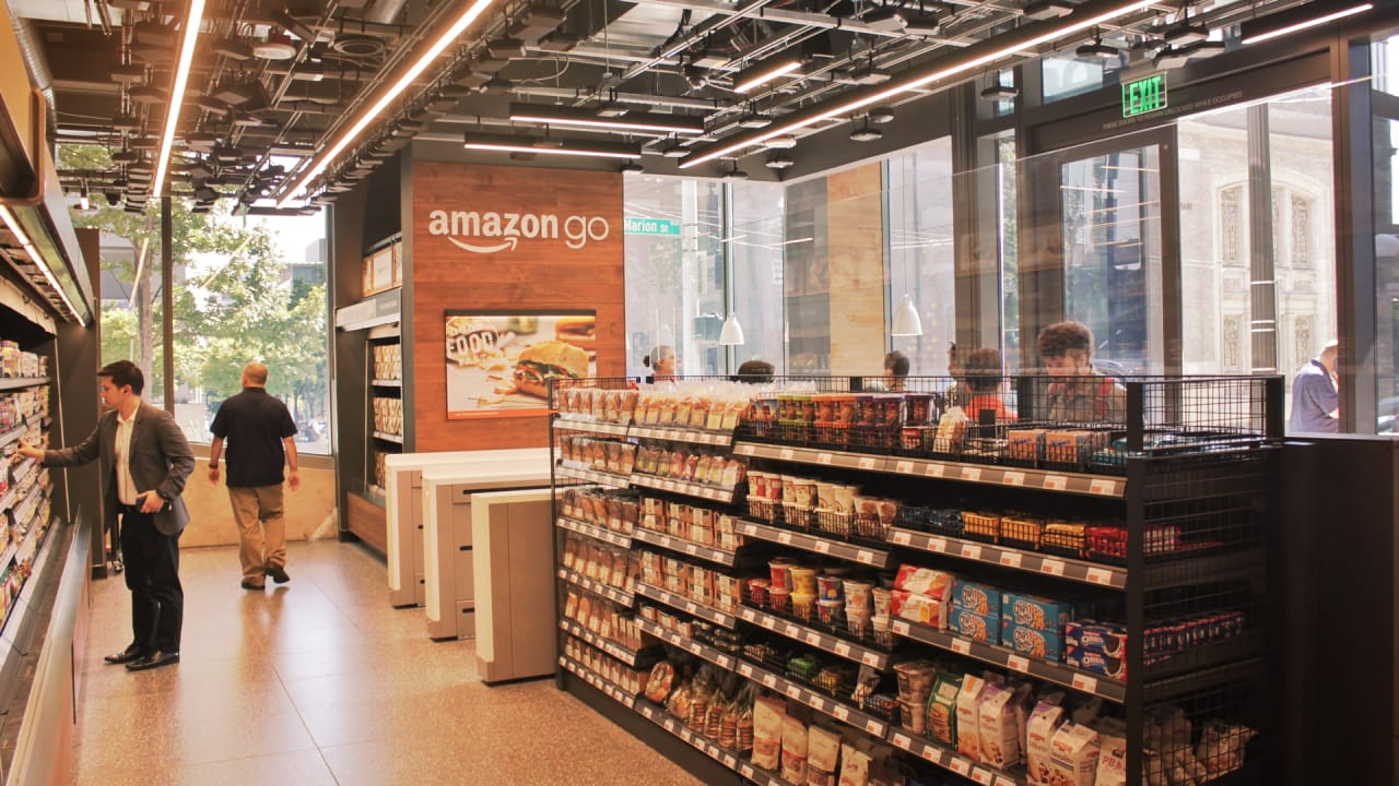 Amazon Planning To Open A Flagship Go Store In London