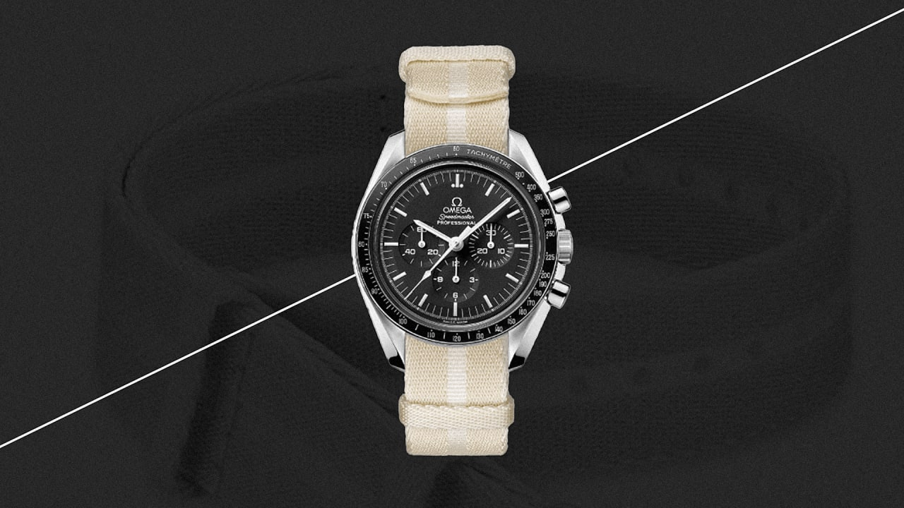 new styles a6191 59c75 AMSilk partners with Omega to make a Biosteel watch strap