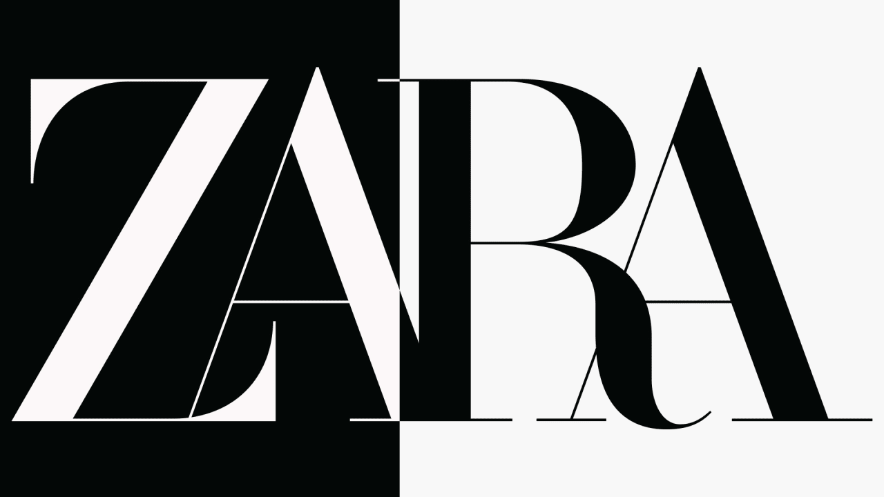 Zara Has A New Logo And Reviews Are Mixed