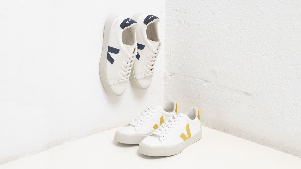 """da3930c407c7 I can t believe it s not leather!"""" Veja sneakers debuts eco-friendly"""