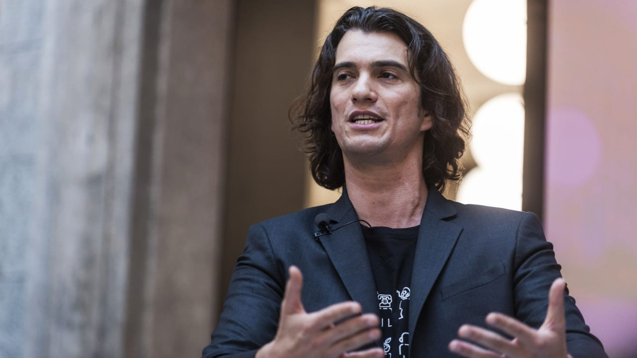 Exclusive: WeWork rebrands to The We Company; CEO Neumann talks about revised SoftBank round