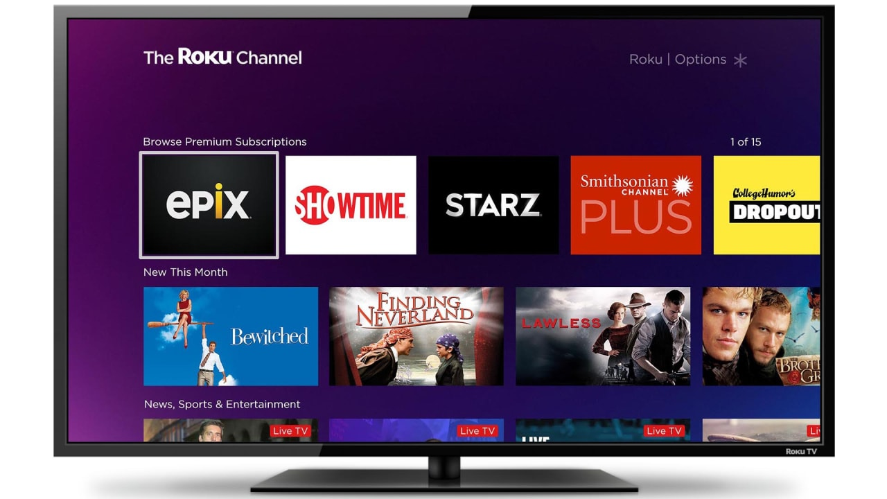 Roku has an Answer for Streaming App Overload