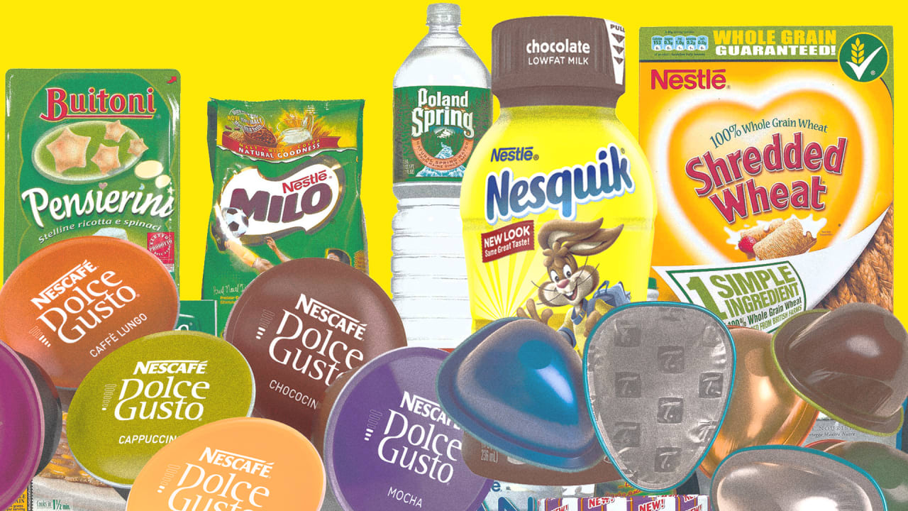 Nestlé plans to phase out single-use plastic