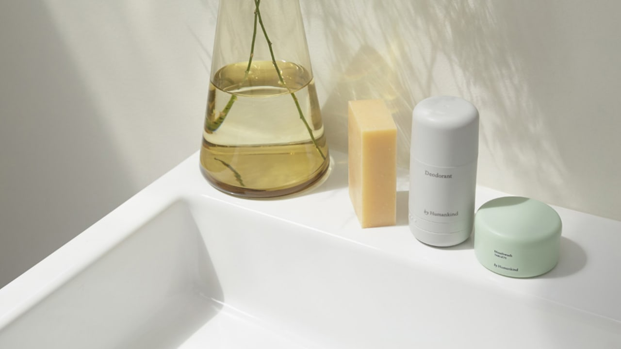 Personal care company By Humankind uses refillable containers