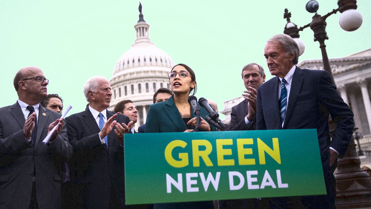 Ocasio-Cortez releases framework for a Green New Deal