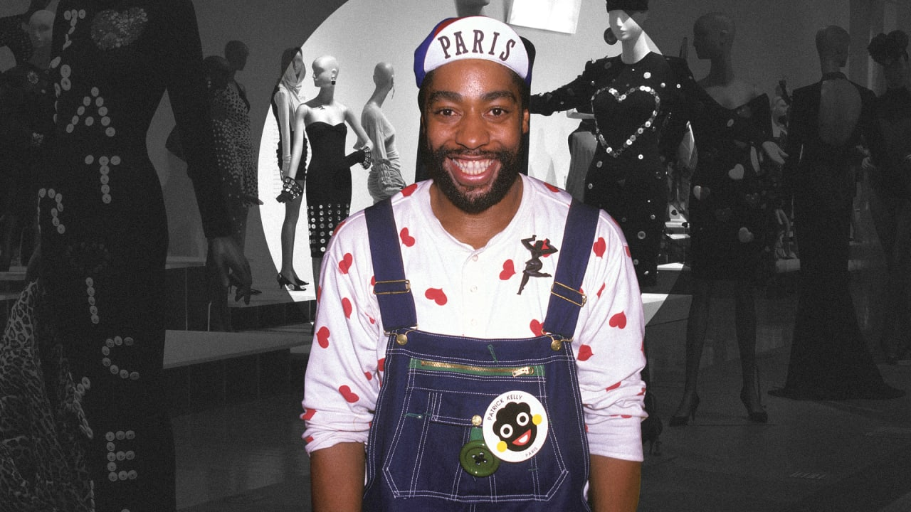 Rediscovering Patrick Kelly, the designer who made blackface his brand