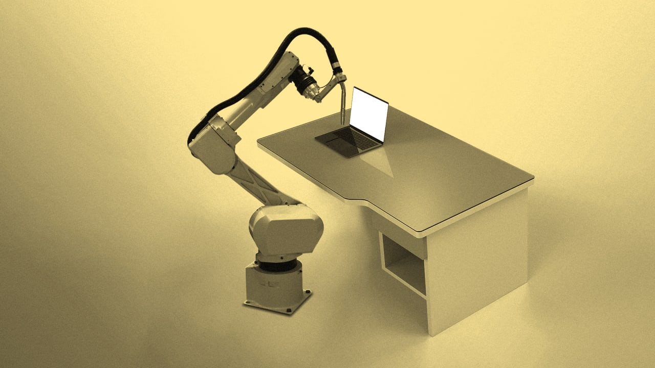 Could a Robot do a Desk Job?