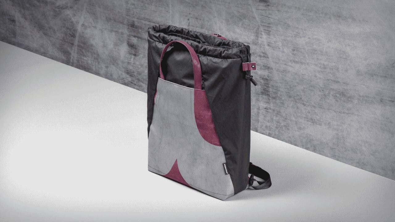 These Ultra-strong Bags were Made from Truck Tarps and Soda Bottles