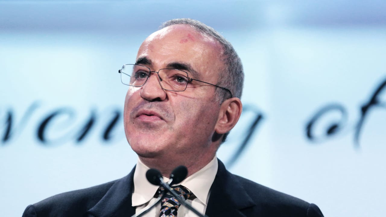 "Chess legend Garry Kasparov: ""Humans still have the monopoly on evil"""
