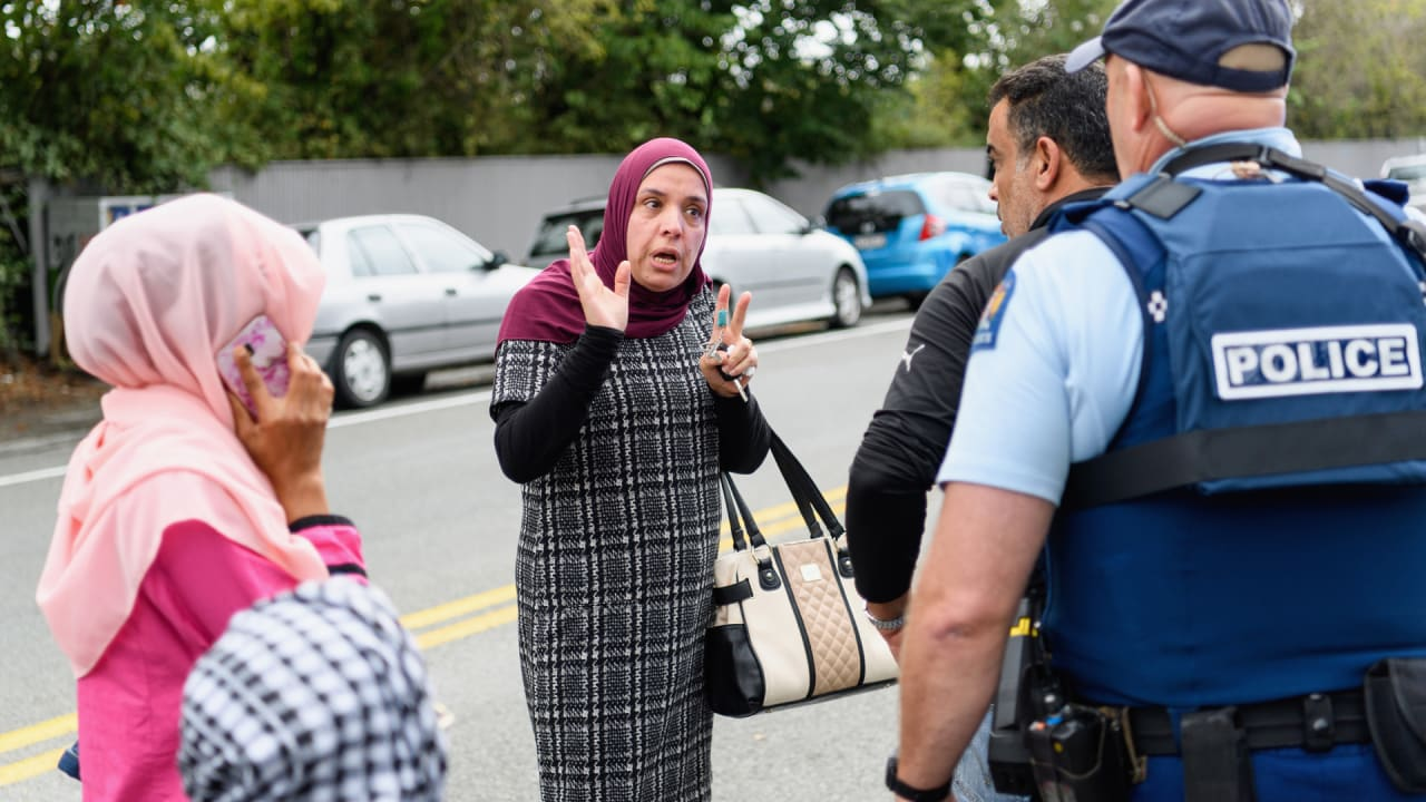 Two New Zealand mosques targeted in live-streamed shootings