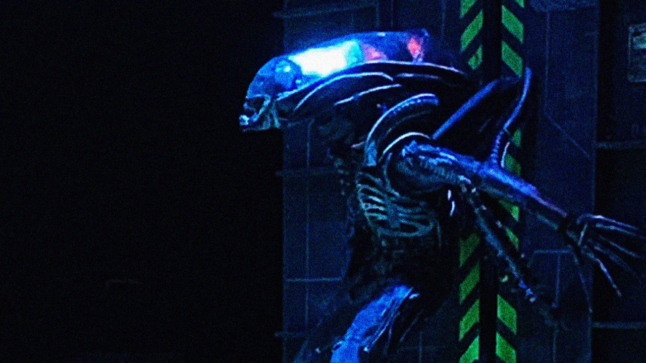 """Watch the high school production of """"Alien"""" that has"""