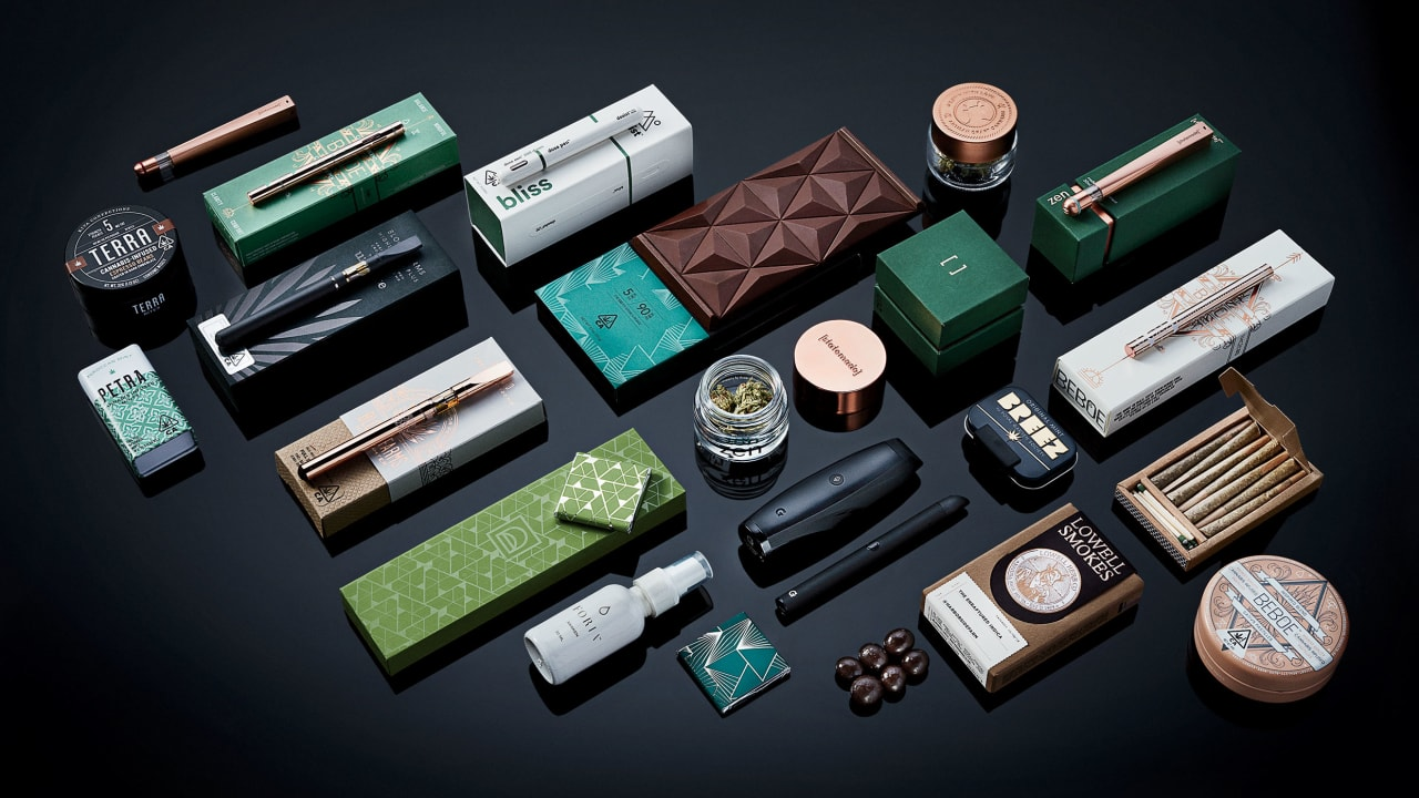 The Bauhaus of Blunts? Today's most ambitious cannabis companies are high on design