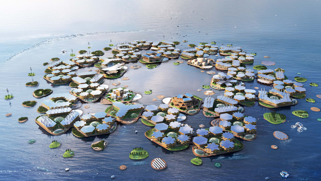 QnA VBage Floating cities once seemed like sci-fi. Now the UN is getting on board