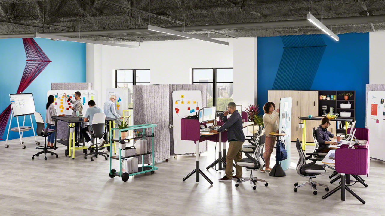 fastcompany.com - This clever office furniture helps you hack your open plan office hell