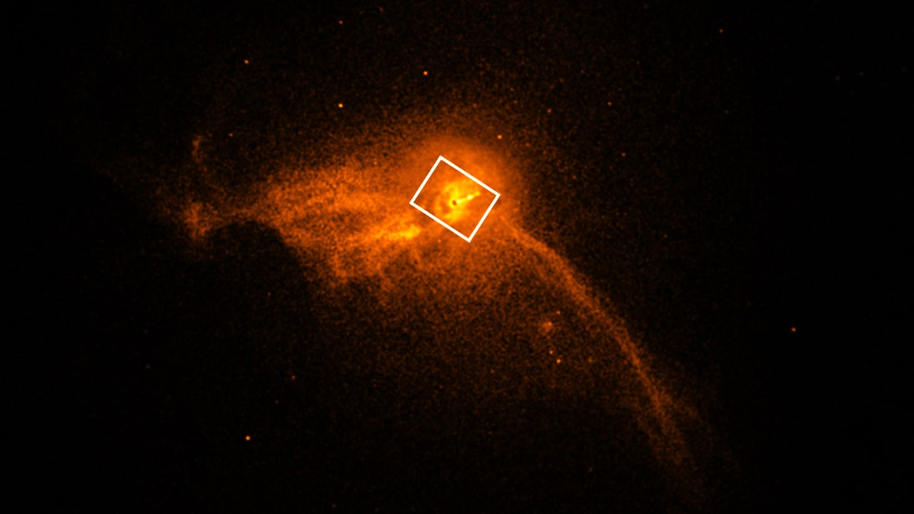 Here's the first-ever image of a black hole. Thank the ...