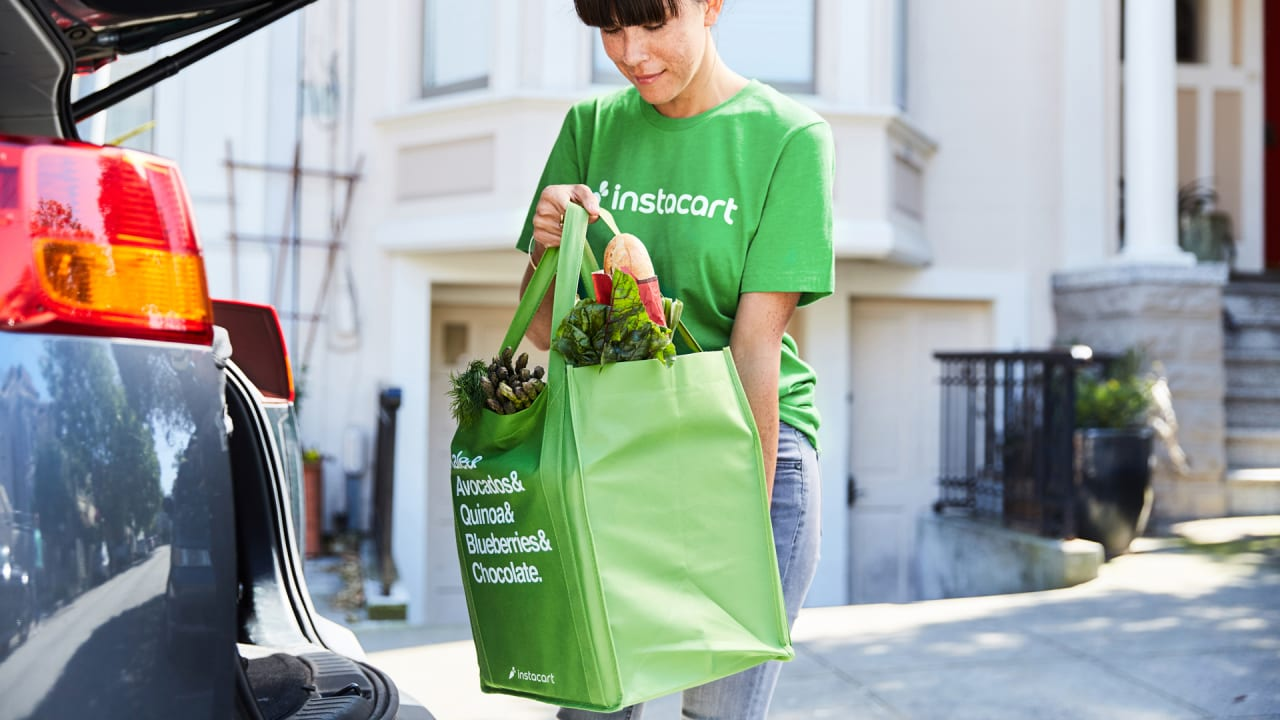 Instacart offers drivers more flexibility on delivery gigs