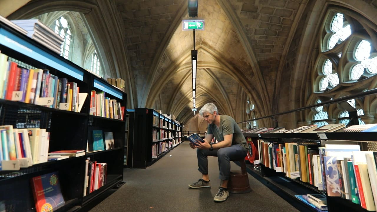 Max Joseph video explores anxiety about reading too few books