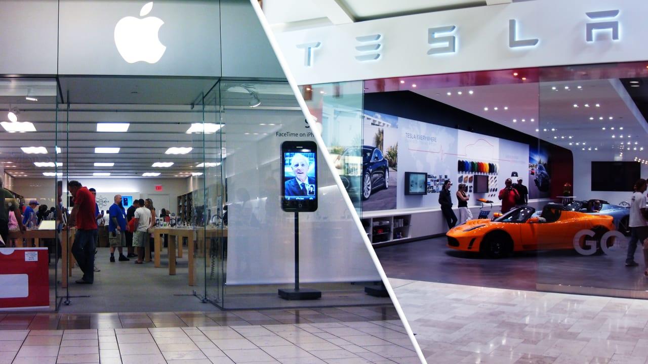 fastcompany.com - Retail apocalypse watch: Apple and Tesla won't save dying malls