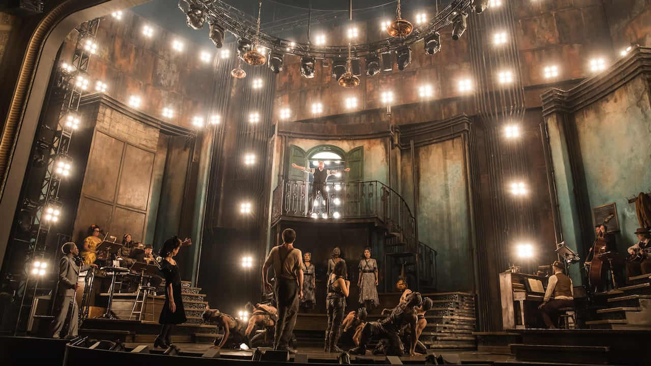 Image result for hadestown set