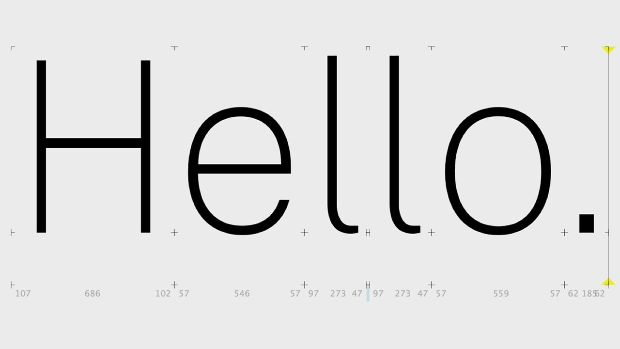The latest giant to design its own font? The U.S. government
