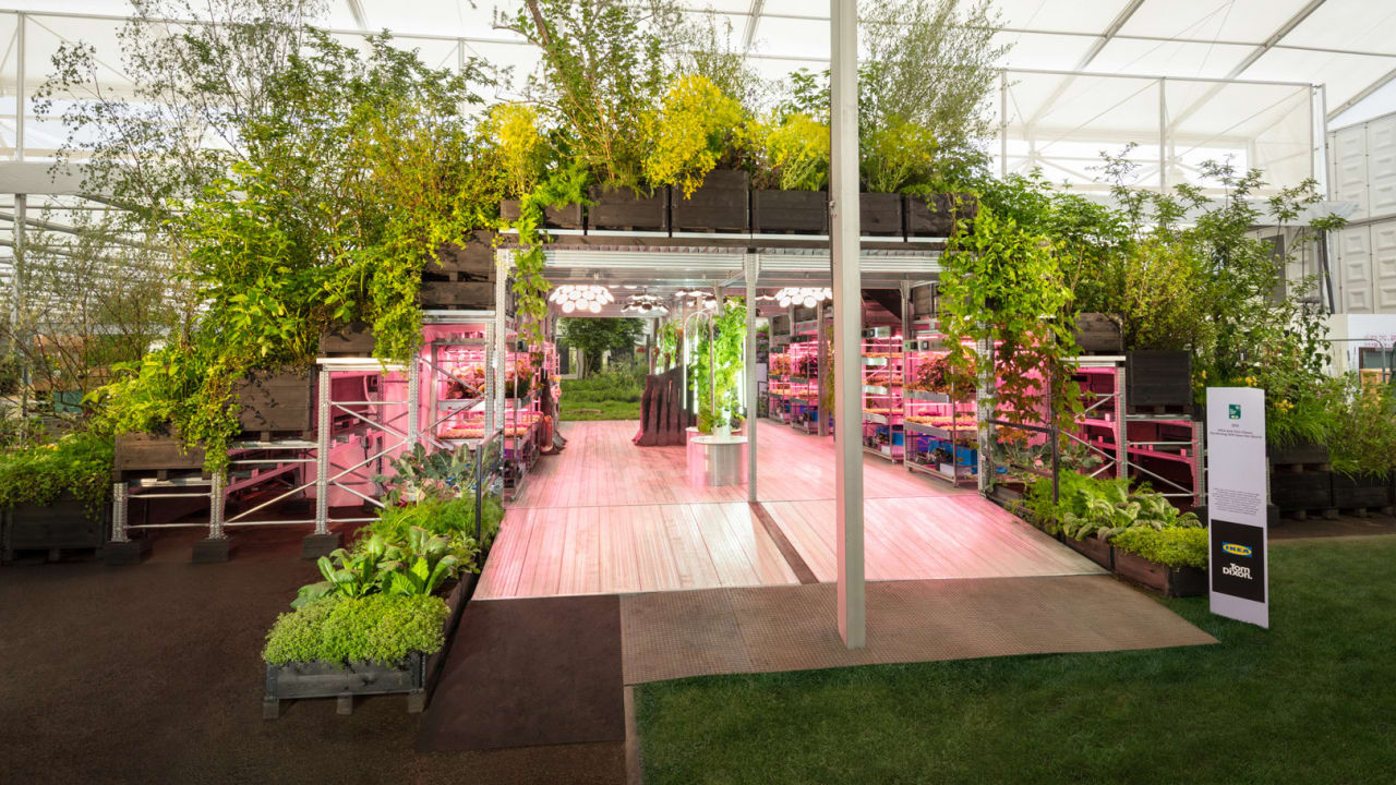 Ikea and Tom Dixon debut vision for urban farming and gardening