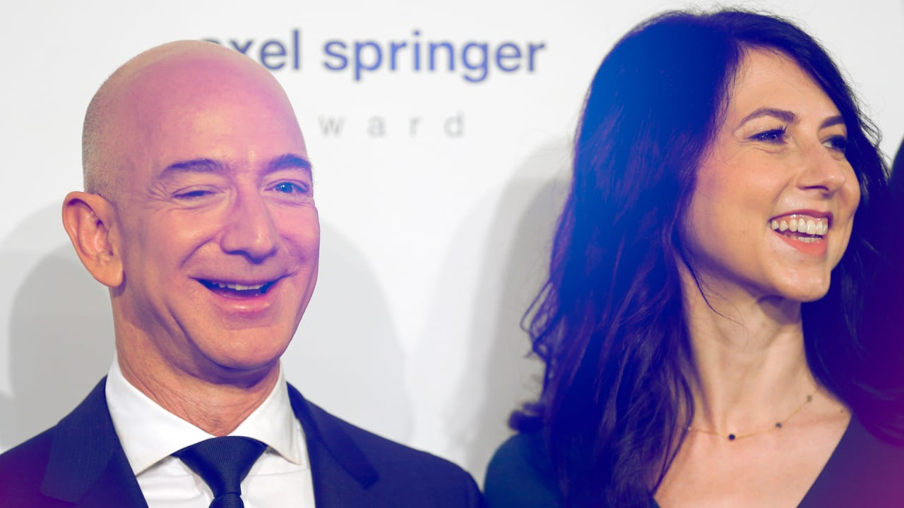 MacKenzie Bezos joins the Giving Pledge. Still no sign of Jeff