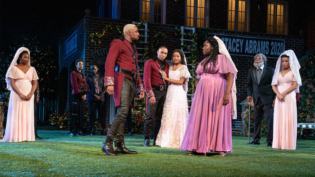"""NYC's Shakespeare in the Park stages an all-black """"Much Ado About Nothing"""""""