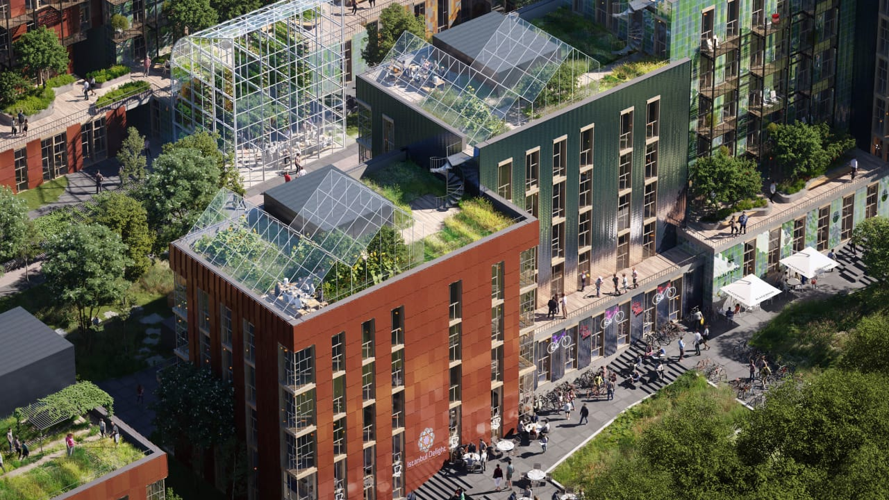 These 15 urban design projects are reinventing cities for a zero-carbon future