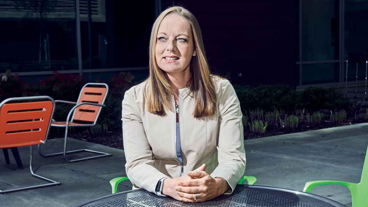 Microsoft General Counsel Dev Stahlkopf is one of Fast