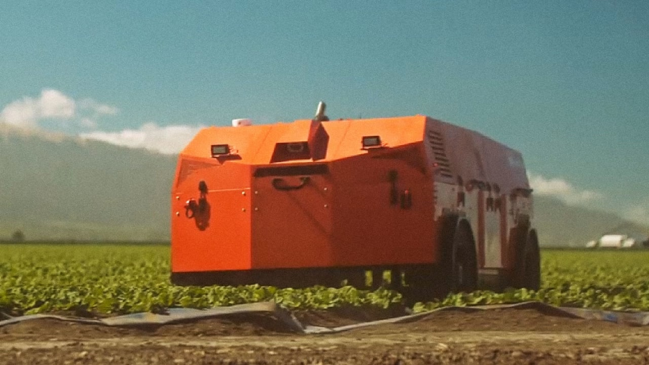 These Giant Robots are Death Machines for Weeds
