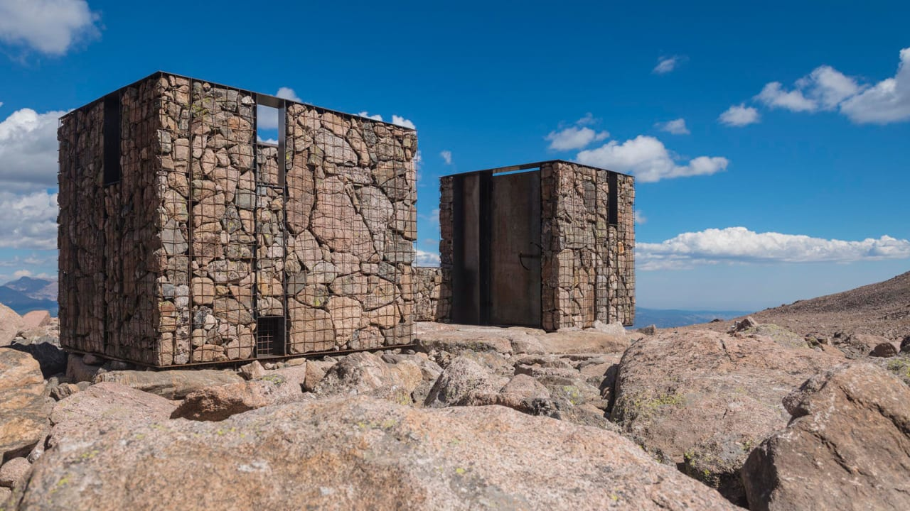 Image result for Rocky mountain national park outhouses