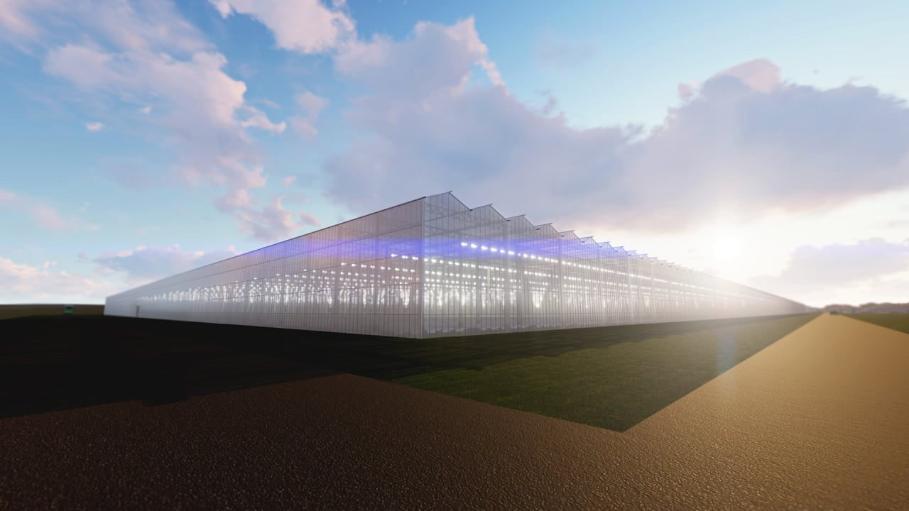 This startup is going to put one of the world's largest sustainable greenhouses in coal country